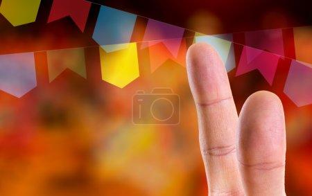 Fingers at Junina Party Theme (Festa Junina)