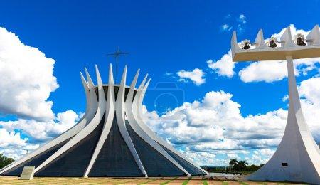 Cathedral of Brasilia, Brazil.