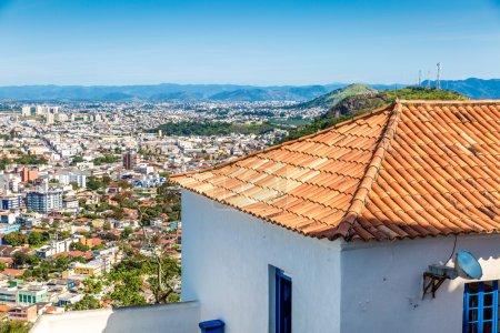 Aerial view of Vitoria in Espirito Santo, Brazil