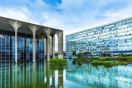Itamaraty Palace in Brasilia, Brazil
