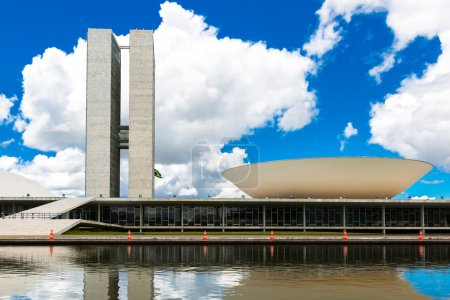 Brazilian National Congress in Brasilia, Brazil