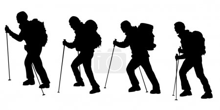 hiker v3 silhouettes