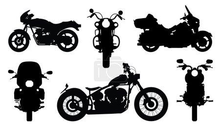 Chopper silhouettes