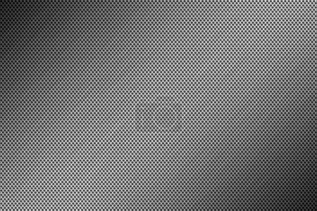 Metal brushed background, perforated metal surface