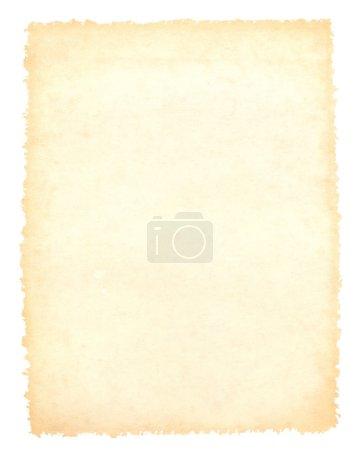 Blank brown vintage paper