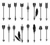 Bow arrow set