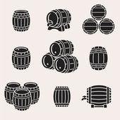 Black Barrels set