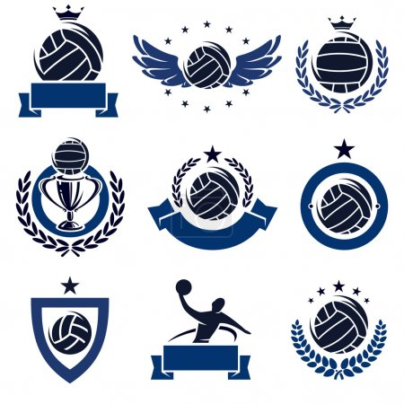 Water polo labels