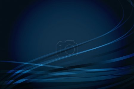 Abstract navy blue background with wavy lines