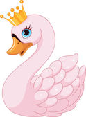 Cute Swan Princess