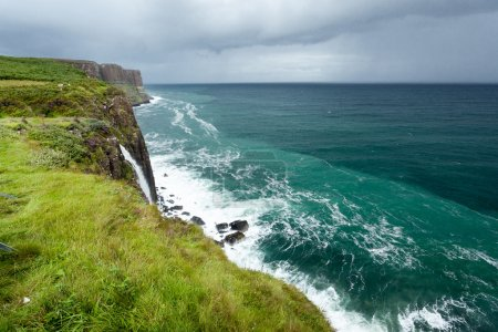 Photo for Landscape photography shots taken in Skye Island, Scotland - Royalty Free Image