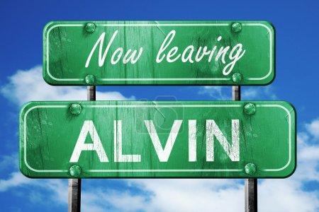 Leaving alvin green vintage road