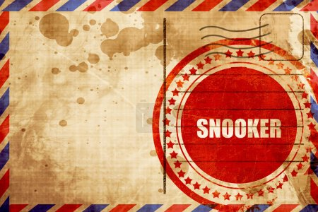 snooker sign background