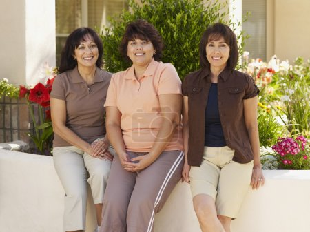 Three Hispanic women