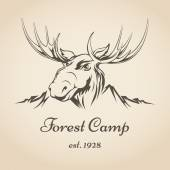 Forest camp logo