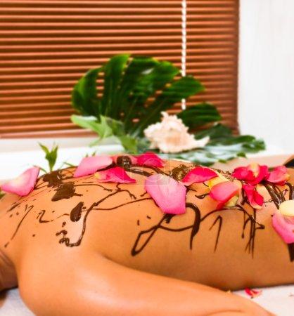 Photo pour Massage spa - image libre de droit