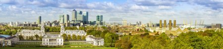 London skyline form Greenwich park