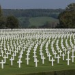 Постер, плакат: Thousands of American Lives Henri Chapelle American Cemetery and Memorial