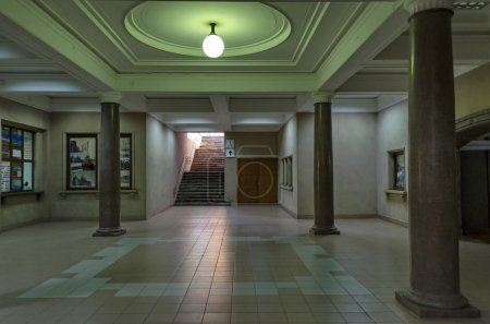 Photo for Intermediate hall in railway station Ruse, Bulgaria - Royalty Free Image