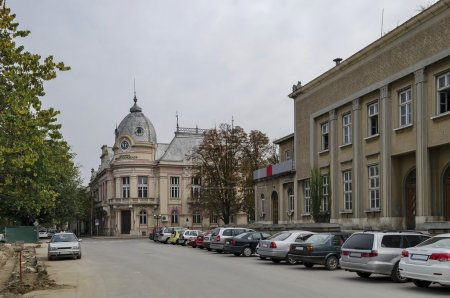 """Photo for City library """"Luben Karavelov"""" in Ruse town, Bulgaria - Royalty Free Image"""