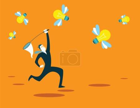 Catches new ideas net. Recruitment