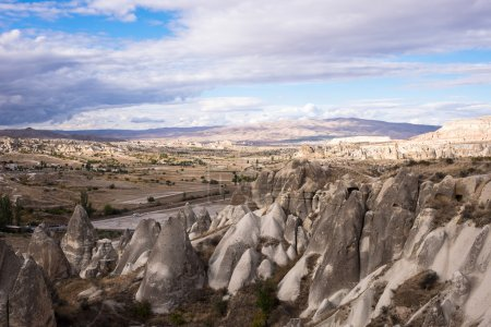 Chimney fairies landscape Cappadocia Turkey