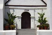 Mission San Buenaventura Entrance