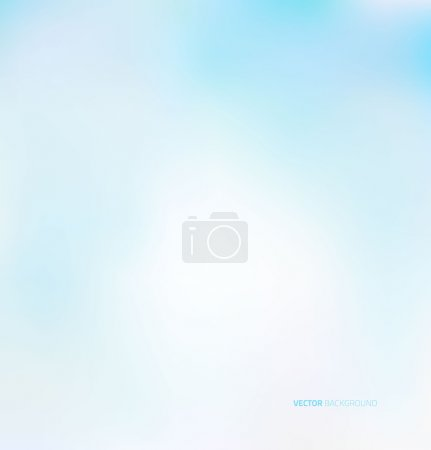 Illustration for Sky blue background with soft pastel - Royalty Free Image