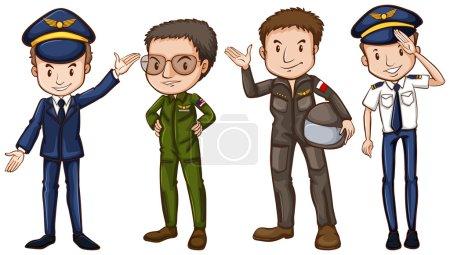 Four pilots