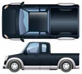 A black pickup