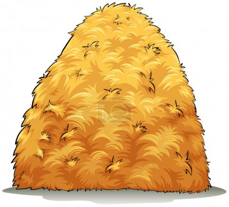 An image showing a haystack