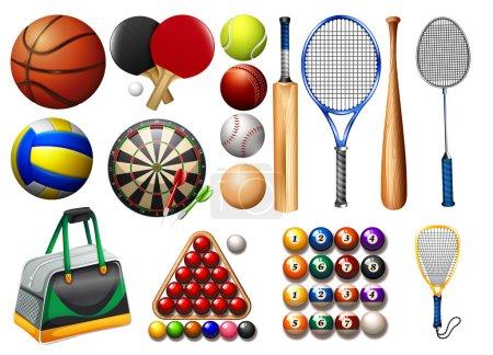 Sports equipment and balls
