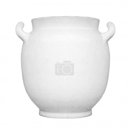 Ancient vase view
