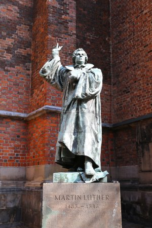 Statue of Martin Luther in Hannover, Germany