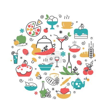 Food. Kitchen.