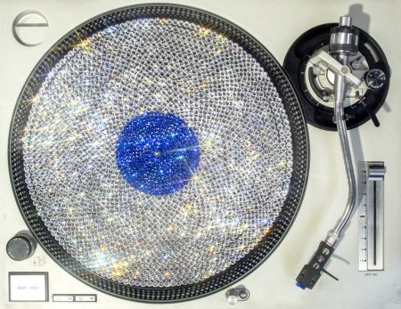 bling crystal vinyl