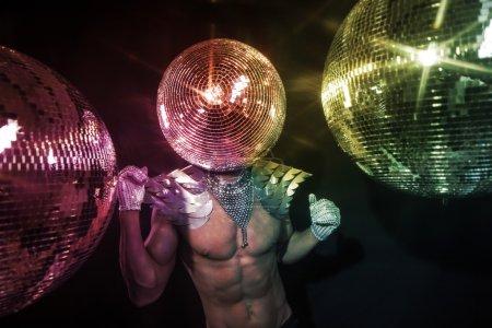 Monsieur le superhéros discoball