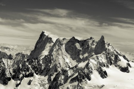 Photo for Mont blanc in the french alps - Royalty Free Image