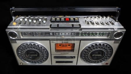 vintage ghettoblaster stereo