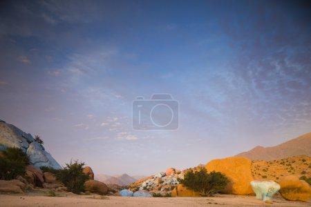 rocks in morocco tafraoute