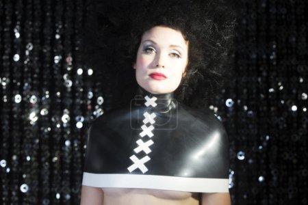 beautiful sexy disco woman