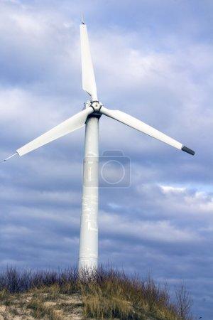 Alternative energy wind turbine landscape