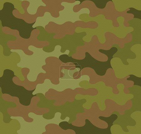 Camouflage seamless pattern vector background