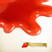 Sweet red vector background