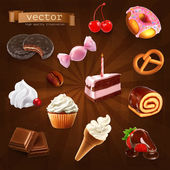 sweet Confectionery   set