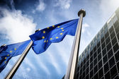 """Постер, картина, фотообои """"Флаги Европейского союза"""""""