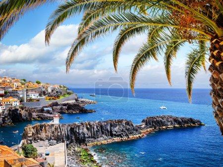 small fisherman village on Madeira island