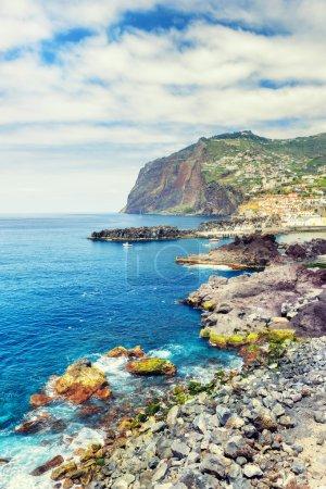 Cabo Girao cliff and Camara de Lobos town