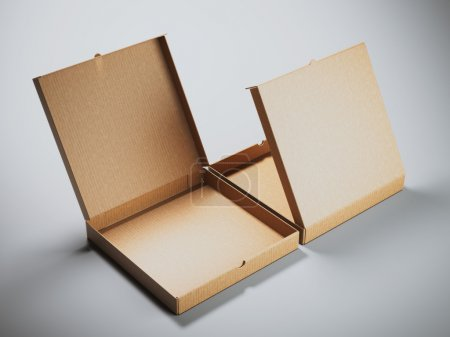 Two cardboard packages