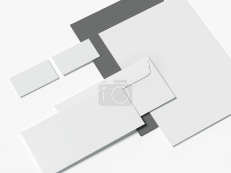 Set of corporate identity templates